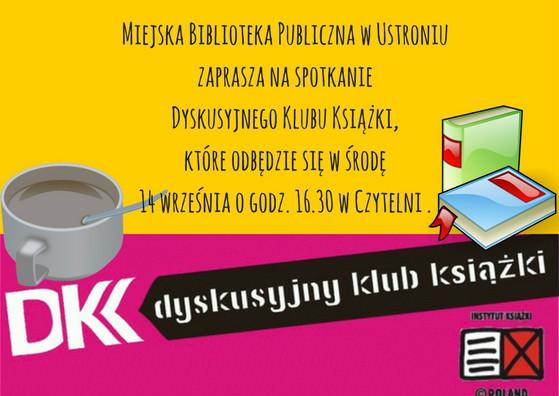 Dyskusyjny Klub Książki - 14 września