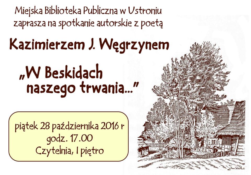 Spotkanie z K.J. Węgrzynem - 28.10.2016
