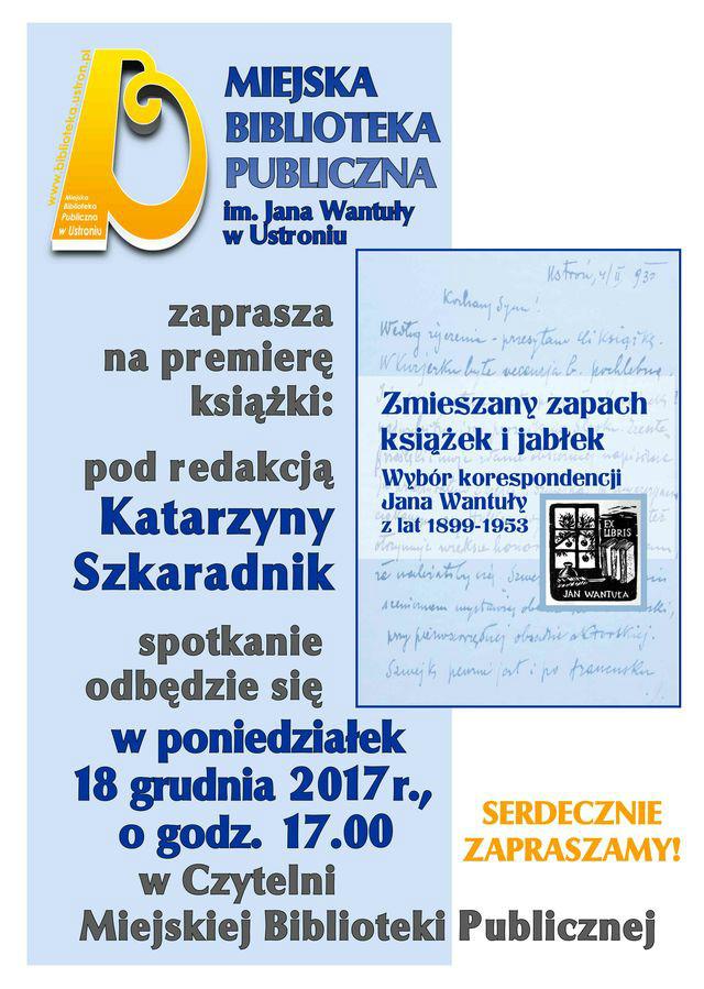 Listy Wantuły - Katarzyna Szkaradnik 18.12.2017