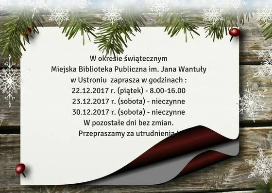 godziny świąteczne