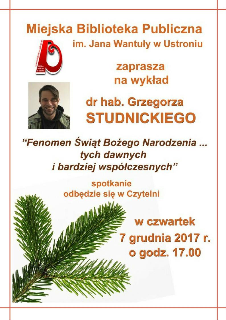 Grzegorz Studnicki 07.12.23017